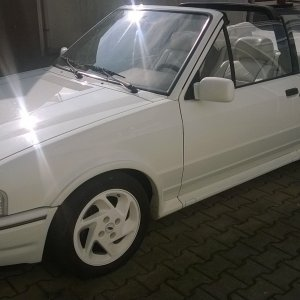 Escort MK4 White edition 1.6i